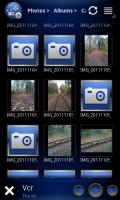 aVia Media Player - Photo grid view