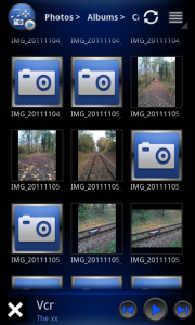 aVia Media Player - Photo grid view