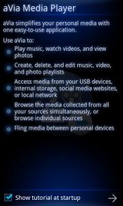 aVia Media Player - Tutorial
