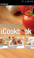 iCookbook - Splash page