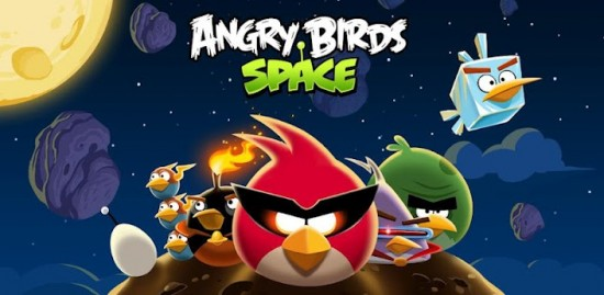 Angry Birds Space is now available