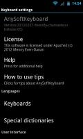 AnySoftKeyboard - Settings