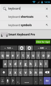 AnySoftKeyboard - Typical keyboard view