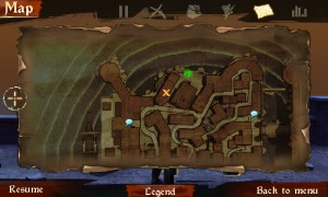Backstab HD - Map view
