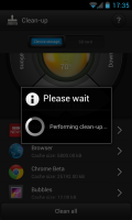 Bitdefender Power Tune-up - Performing clean-up