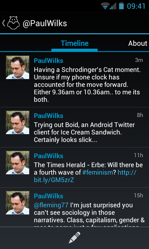 Boid for Android (Alpha) – superb Twitter app for Android 4 ICS devices