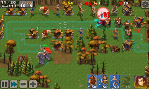 Empire Defense II - Different soldiers have different skills, use strategically