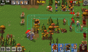 Empire Defense II - Plot your own path through the level and place units strategically