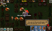 Empire Defense II - Tutorial messages