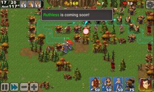 Empire Defense II - Typical in-game view 1