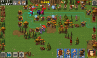 Empire Defense II - Typical in-game view 2