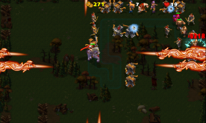 Empire Defense II - Well timed use of your super-weapon can take out lots of enemies
