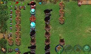 Empire Defense - Typical TD gameplay, build defenses keep out enemies