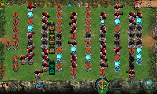 Empire Defense – a Tower Defense game of Medieval times