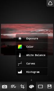 FX Photo Editor - Color options