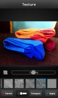 FX Photo Editor - Texture opacity