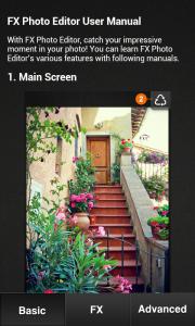 FX Photo Editor - User manual 1