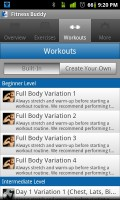 Fitness Buddy Workouts