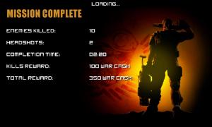 Frontline Commando - Mission complete