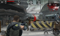 Frontline Commando - Red marks mean you have been hit