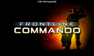 Frontline Commando - Splash page