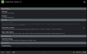 Groove IP Settings