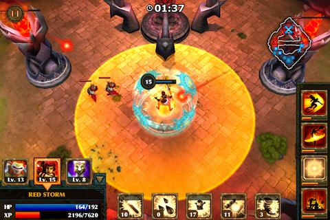 Legendary Heroes – an Epic Strategy/Action RPG game