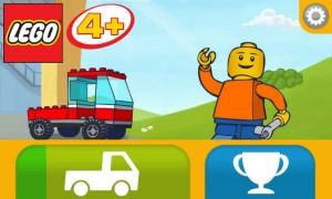 Lego 4+ - Homescreen
