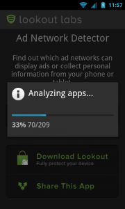 Lookout Ad Network Detector - Analyzing