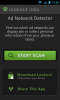 Lookout Ad Network Detector - Front page