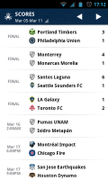 MLS Matchday 2012 - Scores
