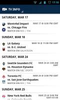 MLS Matchday 2012 - TV Info