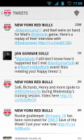 MLS Matchday 2012 - Tweets
