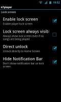 N7player - Lockscreen controls