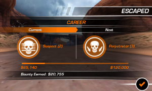 Need for Speed Hot Pursuit - Career progression