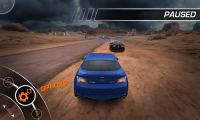 Need for Speed Hot Pursuit - Pause menu