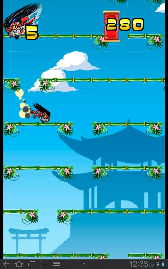Ninja Falldown combines the two factors every game strives for: fun and addictive
