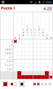 Nonomatic - 10x10 puzzle