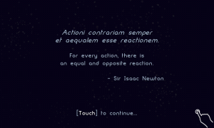 Osmos HD - Level intro screen quotes