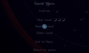 Osmos HD - Pause menu