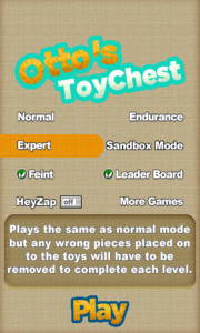 Otto's ToyChest - Expert notes