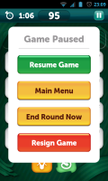 Scramble with Friends - Game paused