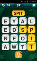 Scramble with Friends - In-game view