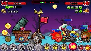 Shooting Warrior in Gameplay 1