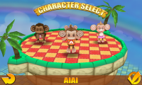 Super Monkey Ball 2 - Character select