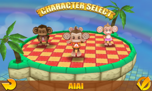 Super Monkey Ball 2 - Character select