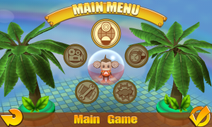Super Monkey Ball 2 - Main menu