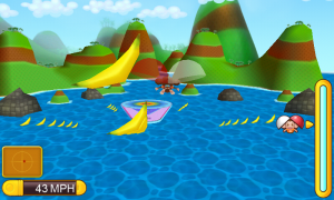 Super Monkey Ball 2 - Monkey target mini-game