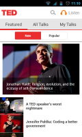 TED - Featured talks