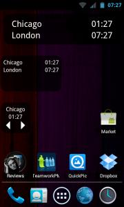 TM World Clock - 3 types of widget